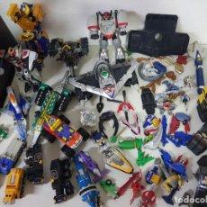 Figure e Bambolotti Transformers: MEGA LOTE DE MAS DE 5 KILOS DE TRANSFORMERS ANTIGUOS Y POWERRANGERS Y OTROS, 29 FOTOS. Lote 203441241