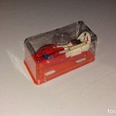 Figuras y Muñecos Transformers: JUGUETE COCHE PLÁSTICO. GISIMA TRANSFORMERS. LANCHA ROJA Y BLANCA, CAJA ROJA NUEVO 80/90 TRANSFORMER. Lote 204731098