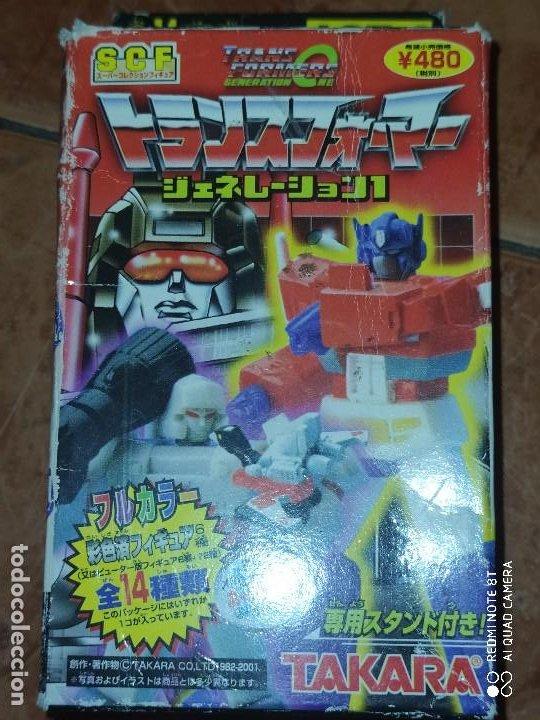 TRANSFORMER 2 . NUEVO. AÑOS 80 `90 (Juguetes - Figuras de Acción - Transformers)