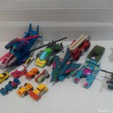 Figuras y Muñecos Transformers: GRAN LOTE DE TRANSFORMERS G1 HASBRO TAKARA 88/90/91. Lote 205827207