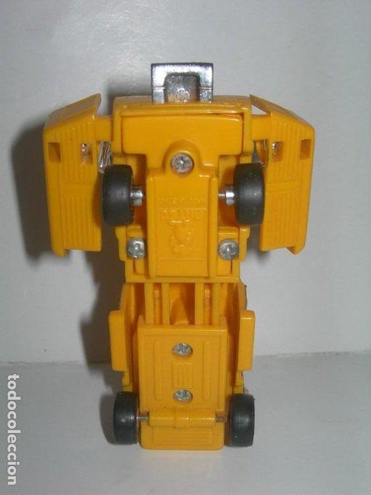 Figuras y Muñecos Transformers: RARO COCHE / FIGURA TRANSFORMER FABRICADO POR ARTEC - TRANSFORMERS AÑOS 80 - MADE IN SPAIN - - Foto 2 - 206444017