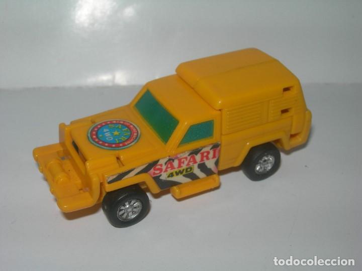 Figuras y Muñecos Transformers: RARO COCHE / FIGURA TRANSFORMER FABRICADO POR ARTEC - TRANSFORMERS AÑOS 80 - MADE IN SPAIN - - Foto 3 - 206444017