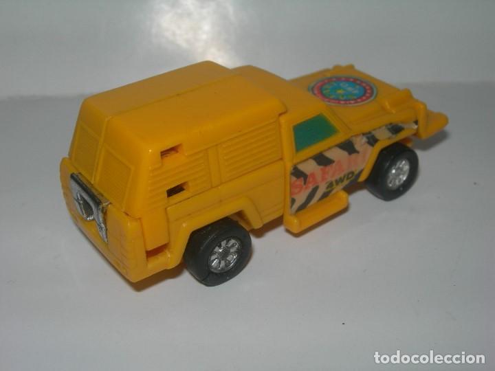 Figuras y Muñecos Transformers: RARO COCHE / FIGURA TRANSFORMER FABRICADO POR ARTEC - TRANSFORMERS AÑOS 80 - MADE IN SPAIN - - Foto 4 - 206444017