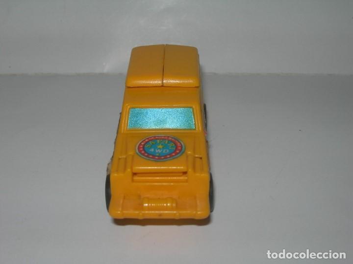 Figuras y Muñecos Transformers: RARO COCHE / FIGURA TRANSFORMER FABRICADO POR ARTEC - TRANSFORMERS AÑOS 80 - MADE IN SPAIN - - Foto 5 - 206444017