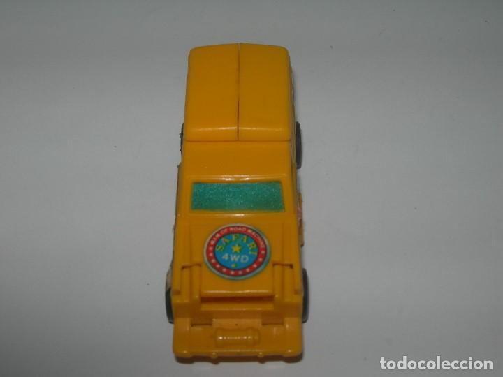 Figuras y Muñecos Transformers: RARO COCHE / FIGURA TRANSFORMER FABRICADO POR ARTEC - TRANSFORMERS AÑOS 80 - MADE IN SPAIN - - Foto 7 - 206444017