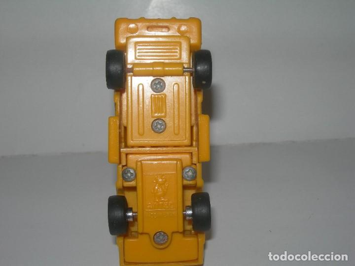 Figuras y Muñecos Transformers: RARO COCHE / FIGURA TRANSFORMER FABRICADO POR ARTEC - TRANSFORMERS AÑOS 80 - MADE IN SPAIN - - Foto 8 - 206444017