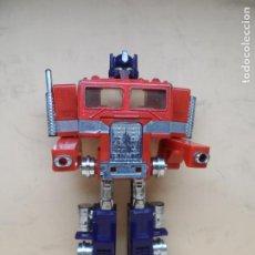 Figuras y Muñecos Transformers: TRANSFORMERS G1 OPTIMUS PRIME + TRAILER 1984 HASBRO. Lote 206853371