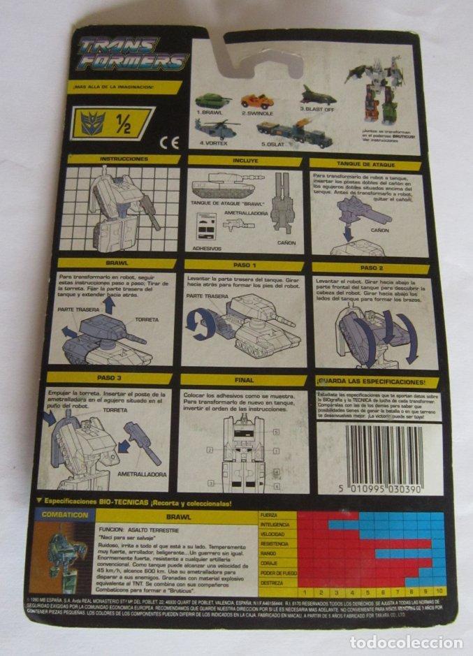 Figuras y Muñecos Transformers: TRANSFORMERS DECEPTICON BRAWL EN BLISTER. CC - Foto 2 - 207157195