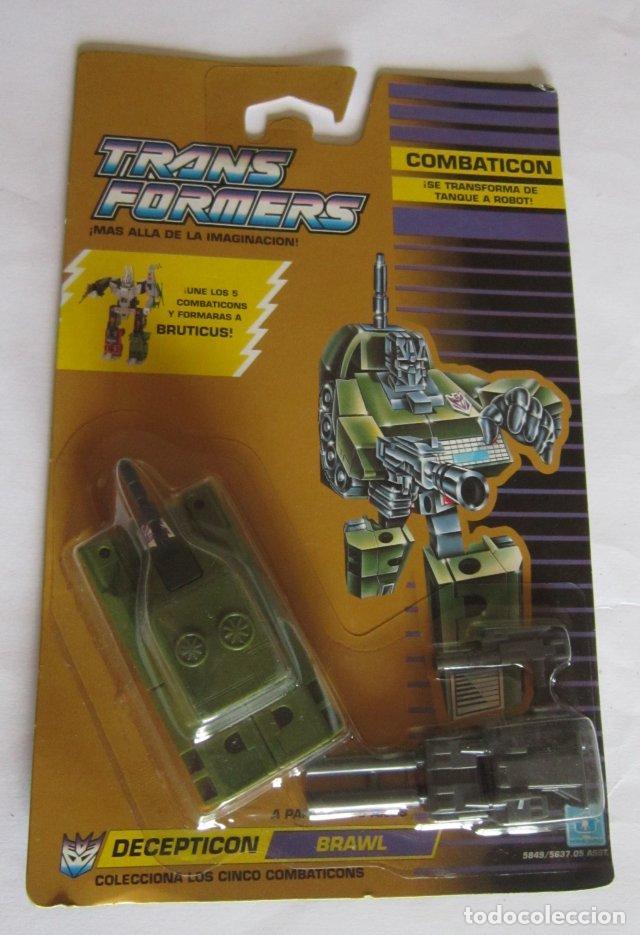 TRANSFORMERS DECEPTICON BRAWL EN BLISTER. CC (Juguetes - Figuras de Acción - Transformers)
