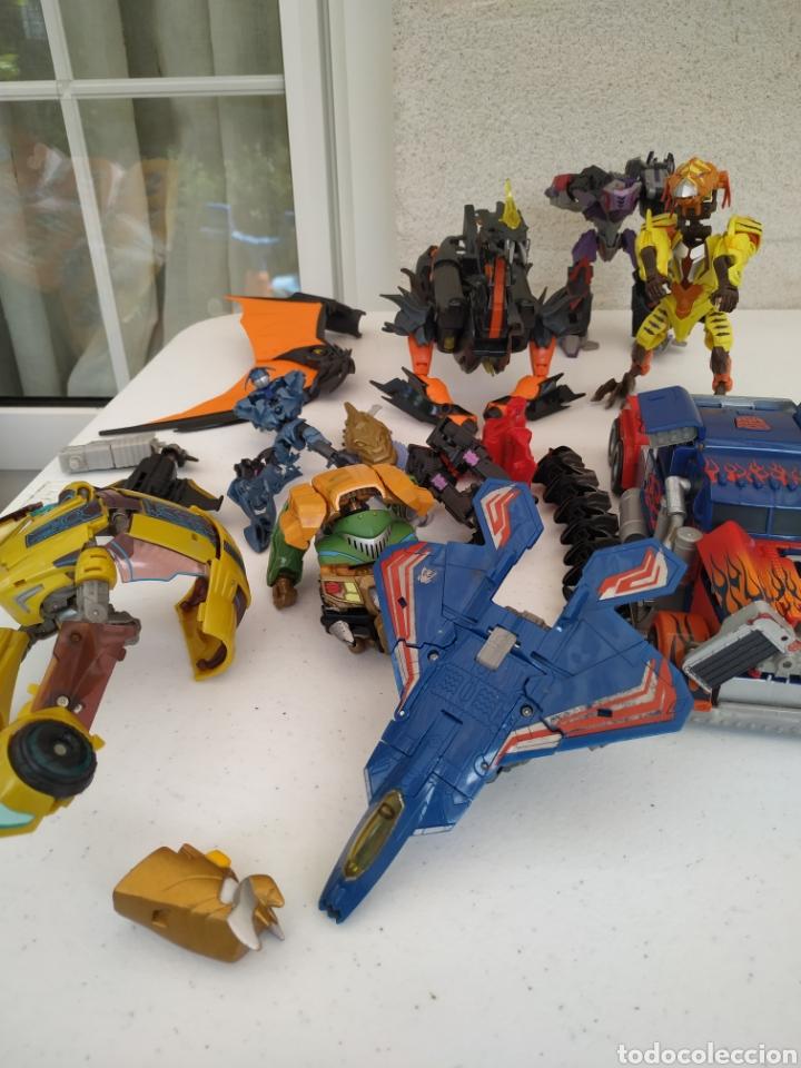 LOTE DE TRANSFORMERS (Juguetes - Figuras de Acción - Transformers)