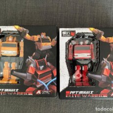 Figuras y Muñecos Transformers: TRANSFORMERS PPT ELITE WARRIOR (GRAPPLE VS INFERNO ). Lote 208026741