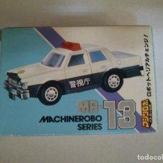 Figuras y Muñecos Transformers: MACHINE ROBO SERIE MR-13 ATENCION SE VENDE LA CAJA VACIA Y PEGATINAS,NO LLEVA EL COCHE. Lote 209296930