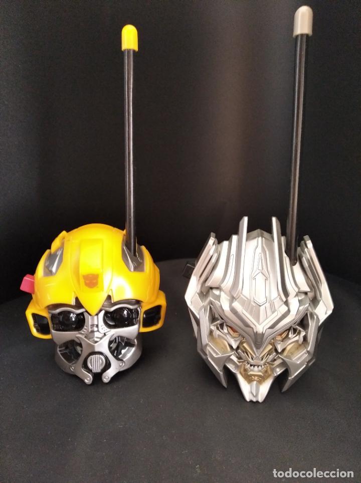 BUMBLEBEE Y MEGATRON - WALKIE TALKIE - TRANSFORMERS - (Juguetes - Figuras de Acción - Transformers)