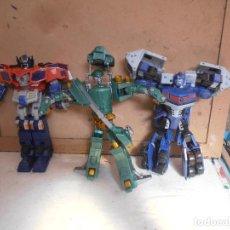 Figuras y Muñecos Transformers: TRANSFORMERS -- VARIADO 3 FIGURAS. Lote 210674821