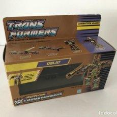 Figuras y Muñecos Transformers: TRANSFORMER OSLAT. GOLDEN BOX. AÑO 1990.. Lote 210748769
