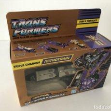 Figuras y Muñecos Transformers: TRANSFORMERS ASTROTRAIN. GOLDEN BOX. AÑO 1990.. Lote 210748909