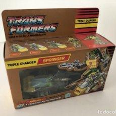 Figuras y Muñecos Transformers: TRANSFORMERS SPRINGER. GOLDEN BOX. AÑO 1990.. Lote 210748950