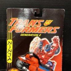 Figuras y Muñecos Transformers: TRANSFORMER GENERATION 2 NINJA ROAD ROCKET HASBRO 1994. Lote 210771427