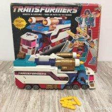 Figuras y Muñecos Transformers: TRANSFORMER CAMION TURBOMASTER THUNDER CLASH HASBRO. Lote 211408442