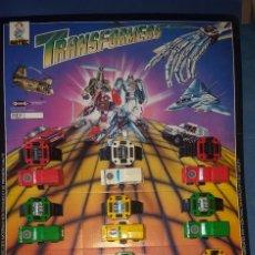 Figuras y Muñecos Transformers: TRANSFORMERS DE PILEN - EXPOSITOR CON 12 COCHES. Lote 211505836