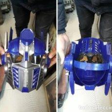 Figuras y Muñecos Transformers: CASCO VOZ.TRANSFORMERS MOVIE 2 OPTIMUS PRIME ROLE PLAY CASCO.AZUL.DESCATALOGADO.HASBRO VOICE-CHANGER. Lote 211605111
