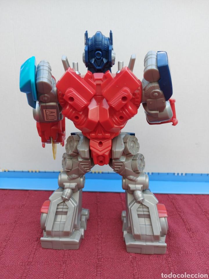 Figuras y Muñecos Transformers: TRANSFORMERS OPTIMUS PRIME ELECTRÓNICO- AUTO ROBOTS-JUGUETE-FIGURA DE ACCIÓN - Foto 2 - 213526440