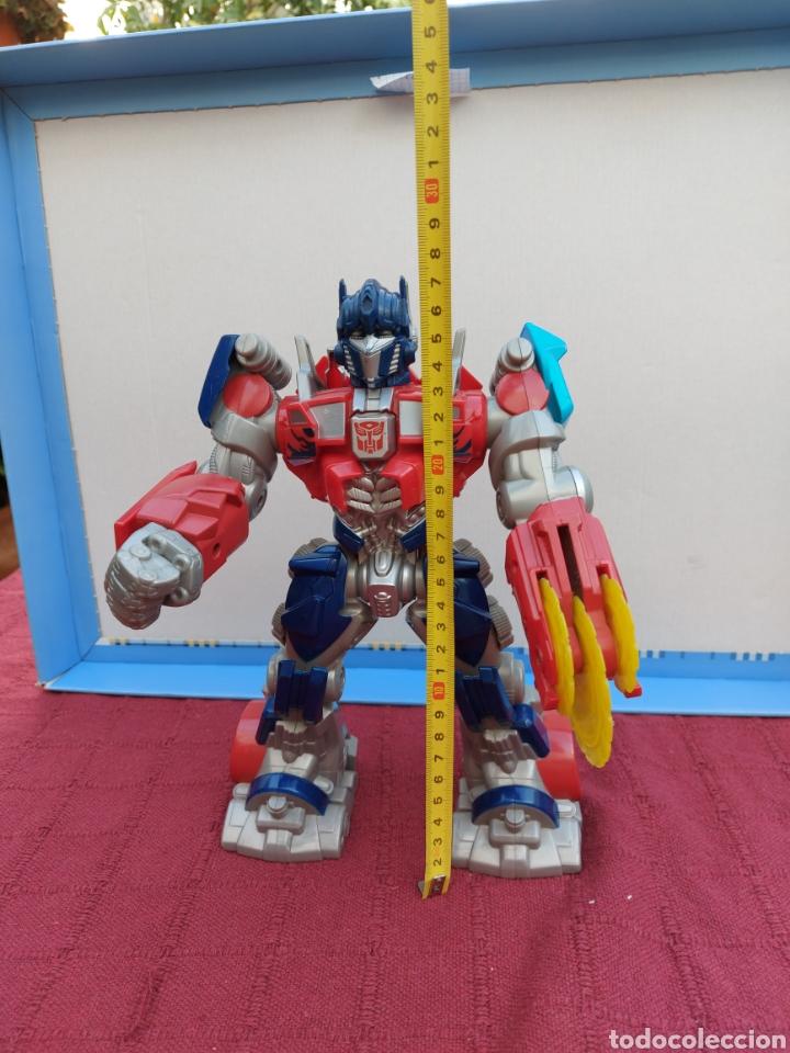 Figuras y Muñecos Transformers: TRANSFORMERS OPTIMUS PRIME ELECTRÓNICO- AUTO ROBOTS-JUGUETE-FIGURA DE ACCIÓN - Foto 3 - 213526440