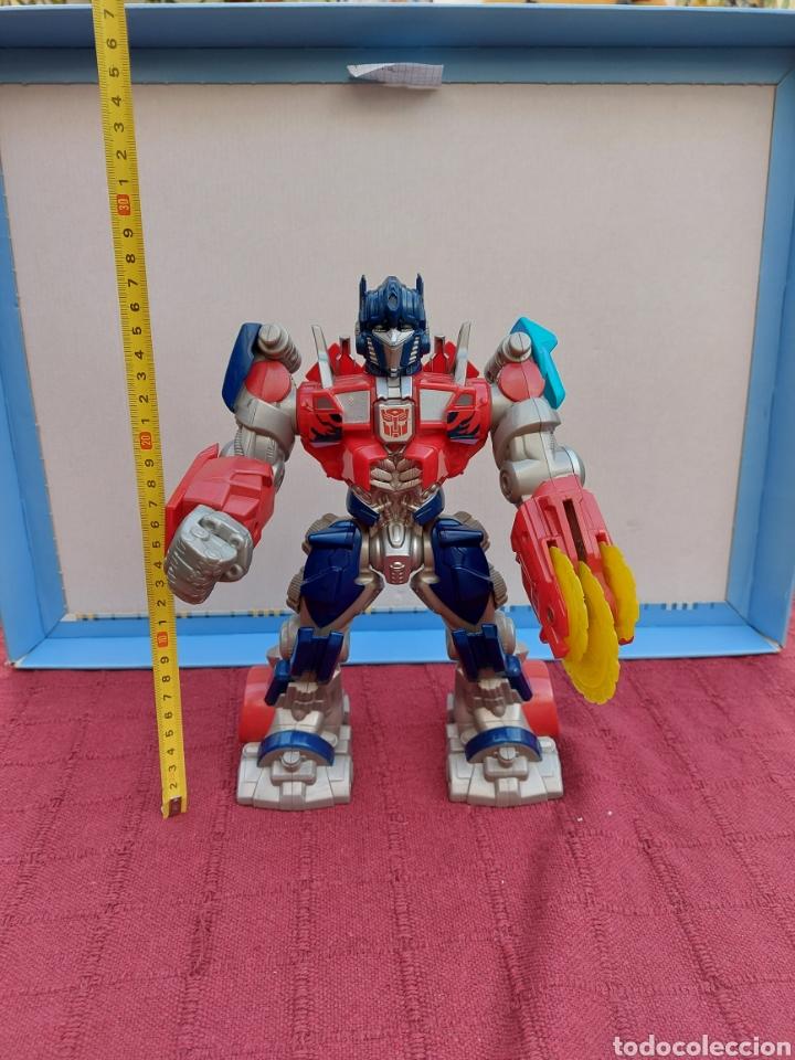 Figuras y Muñecos Transformers: TRANSFORMERS OPTIMUS PRIME ELECTRÓNICO- AUTO ROBOTS-JUGUETE-FIGURA DE ACCIÓN - Foto 4 - 213526440