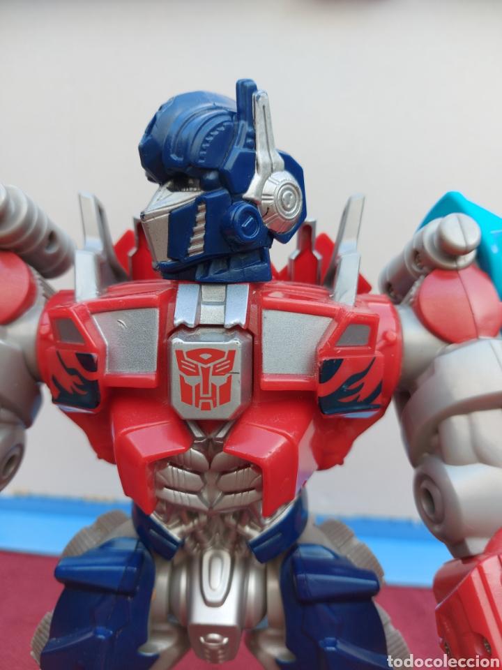 Figuras y Muñecos Transformers: TRANSFORMERS OPTIMUS PRIME ELECTRÓNICO- AUTO ROBOTS-JUGUETE-FIGURA DE ACCIÓN - Foto 6 - 213526440