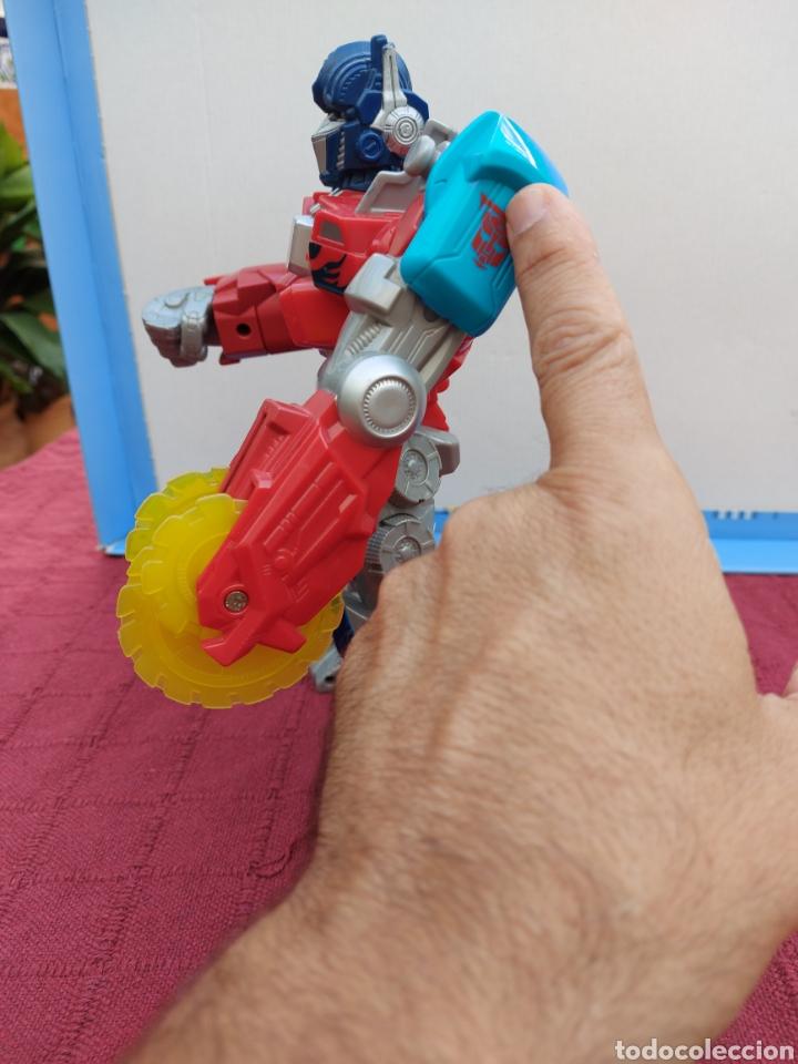 Figuras y Muñecos Transformers: TRANSFORMERS OPTIMUS PRIME ELECTRÓNICO- AUTO ROBOTS-JUGUETE-FIGURA DE ACCIÓN - Foto 7 - 213526440