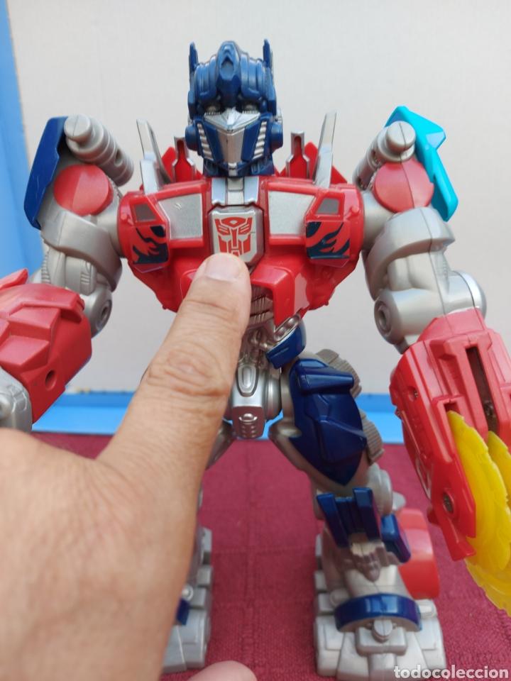 Figuras y Muñecos Transformers: TRANSFORMERS OPTIMUS PRIME ELECTRÓNICO- AUTO ROBOTS-JUGUETE-FIGURA DE ACCIÓN - Foto 8 - 213526440