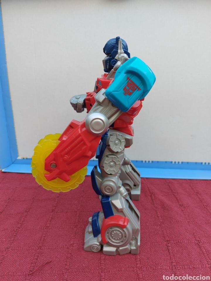Figuras y Muñecos Transformers: TRANSFORMERS OPTIMUS PRIME ELECTRÓNICO- AUTO ROBOTS-JUGUETE-FIGURA DE ACCIÓN - Foto 9 - 213526440