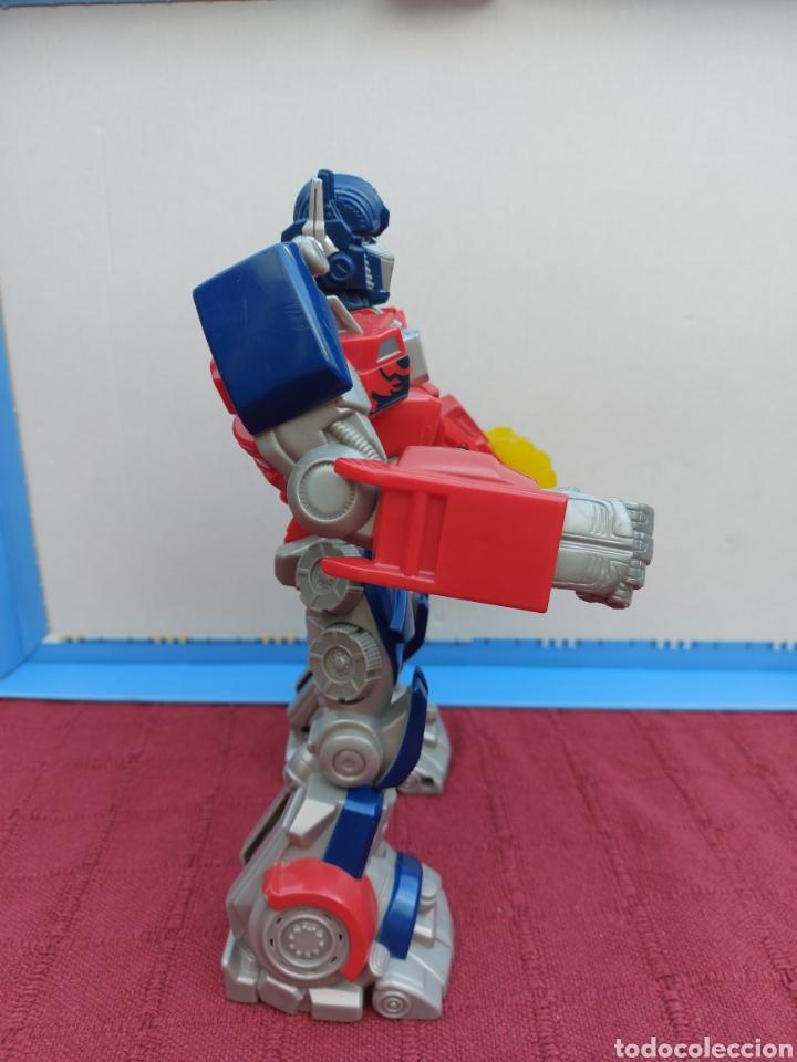Figuras y Muñecos Transformers: TRANSFORMERS OPTIMUS PRIME ELECTRÓNICO- AUTO ROBOTS-JUGUETE-FIGURA DE ACCIÓN - Foto 10 - 213526440
