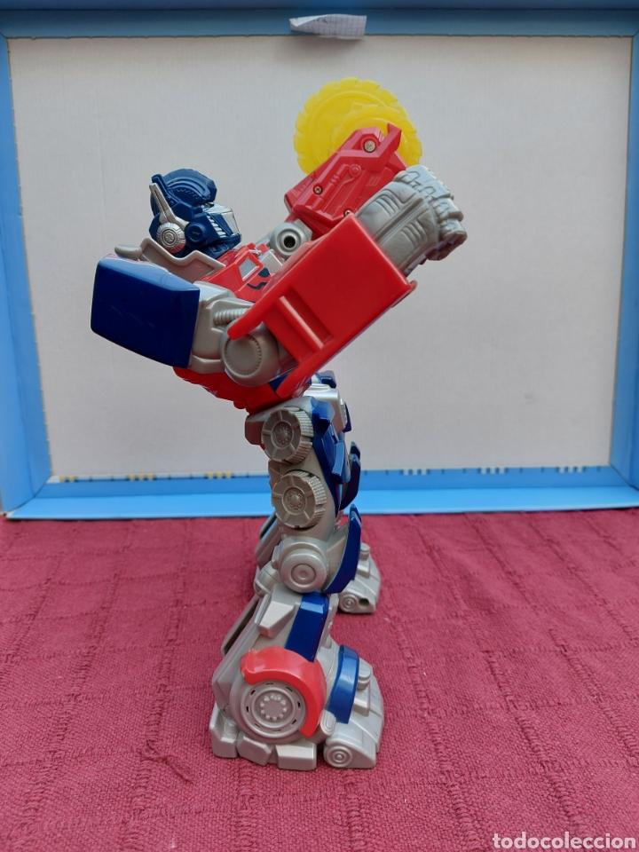 Figuras y Muñecos Transformers: TRANSFORMERS OPTIMUS PRIME ELECTRÓNICO- AUTO ROBOTS-JUGUETE-FIGURA DE ACCIÓN - Foto 11 - 213526440