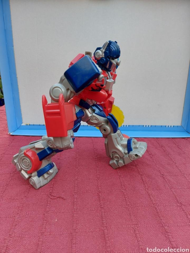 Figuras y Muñecos Transformers: TRANSFORMERS OPTIMUS PRIME ELECTRÓNICO- AUTO ROBOTS-JUGUETE-FIGURA DE ACCIÓN - Foto 12 - 213526440