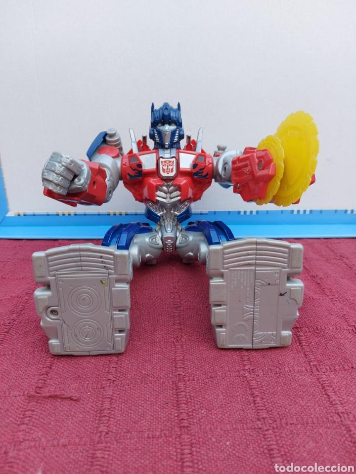 Figuras y Muñecos Transformers: TRANSFORMERS OPTIMUS PRIME ELECTRÓNICO- AUTO ROBOTS-JUGUETE-FIGURA DE ACCIÓN - Foto 13 - 213526440