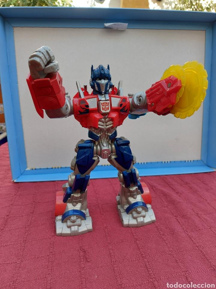 Figuras y Muñecos Transformers: TRANSFORMERS OPTIMUS PRIME ELECTRÓNICO- AUTO ROBOTS-JUGUETE-FIGURA DE ACCIÓN - Foto 14 - 213526440