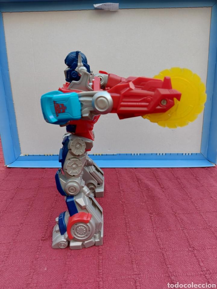 Figuras y Muñecos Transformers: TRANSFORMERS OPTIMUS PRIME ELECTRÓNICO- AUTO ROBOTS-JUGUETE-FIGURA DE ACCIÓN - Foto 15 - 213526440