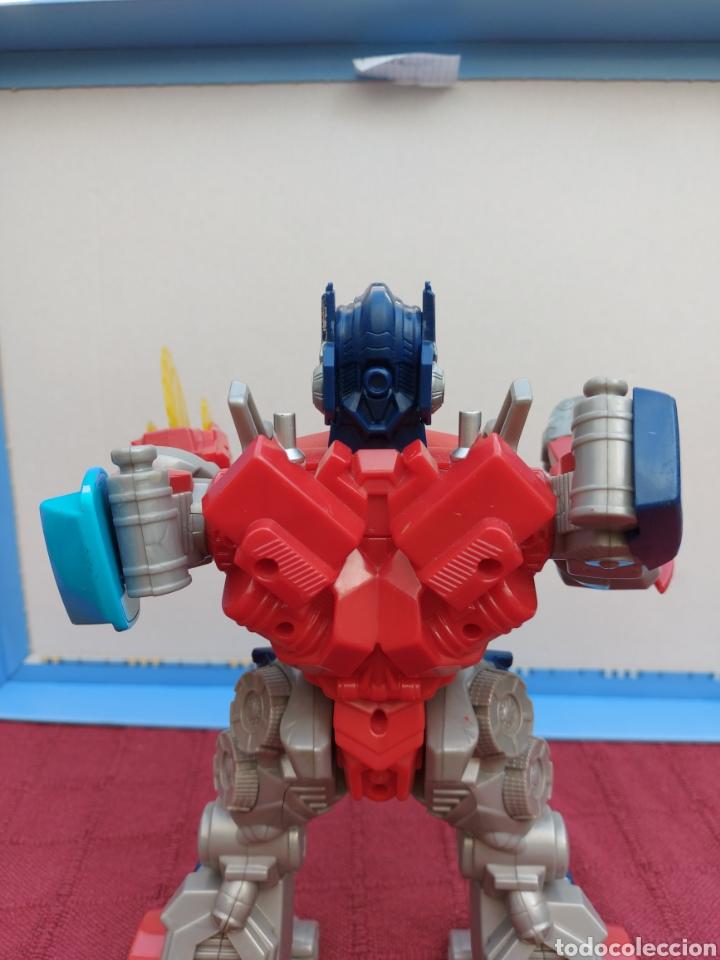 Figuras y Muñecos Transformers: TRANSFORMERS OPTIMUS PRIME ELECTRÓNICO- AUTO ROBOTS-JUGUETE-FIGURA DE ACCIÓN - Foto 17 - 213526440