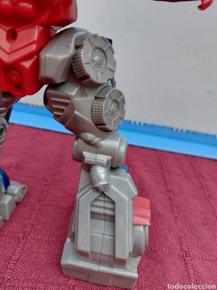 Figuras y Muñecos Transformers: TRANSFORMERS OPTIMUS PRIME ELECTRÓNICO- AUTO ROBOTS-JUGUETE-FIGURA DE ACCIÓN - Foto 19 - 213526440