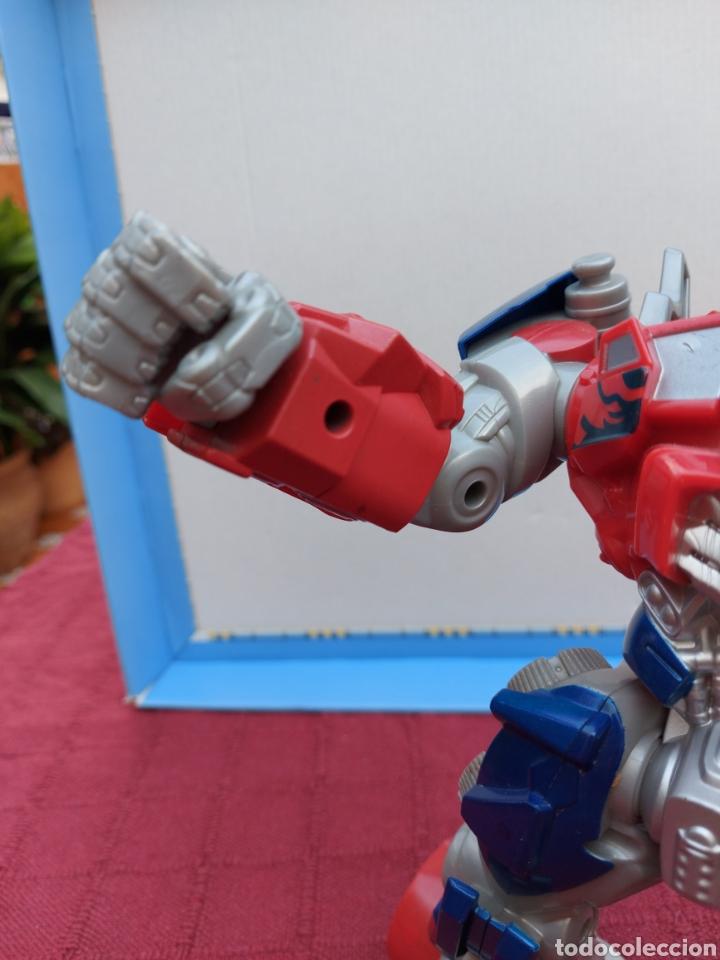 Figuras y Muñecos Transformers: TRANSFORMERS OPTIMUS PRIME ELECTRÓNICO- AUTO ROBOTS-JUGUETE-FIGURA DE ACCIÓN - Foto 20 - 213526440
