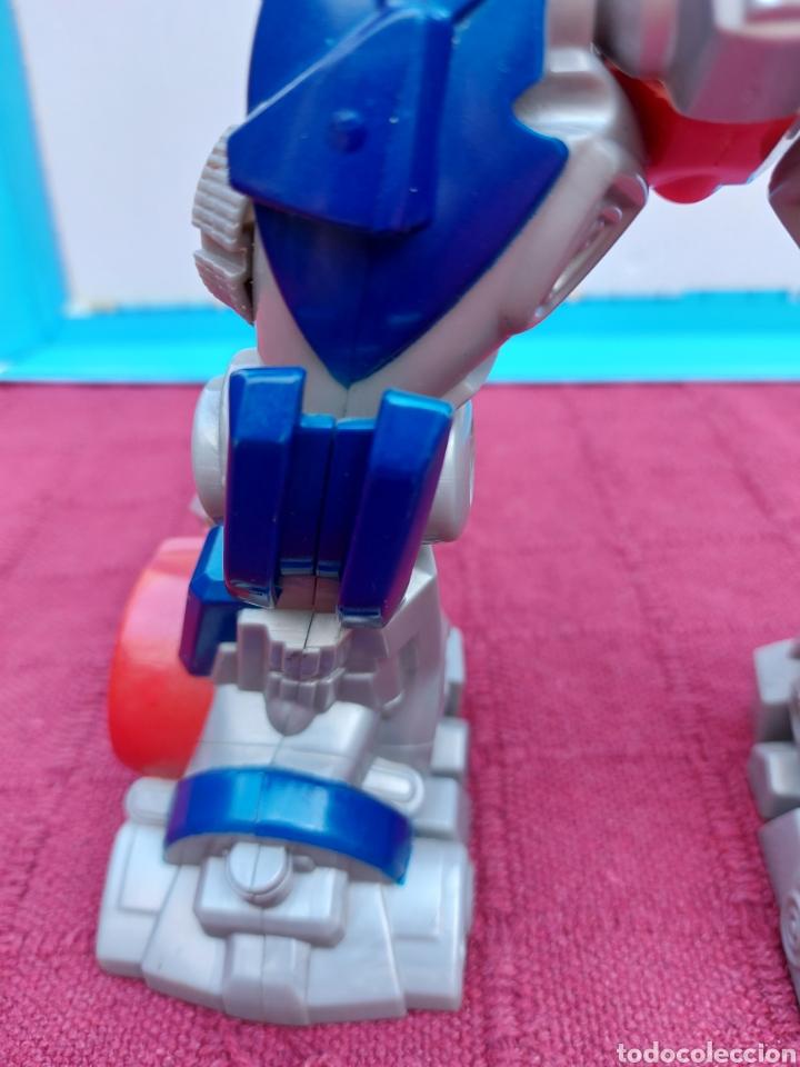 Figuras y Muñecos Transformers: TRANSFORMERS OPTIMUS PRIME ELECTRÓNICO- AUTO ROBOTS-JUGUETE-FIGURA DE ACCIÓN - Foto 22 - 213526440