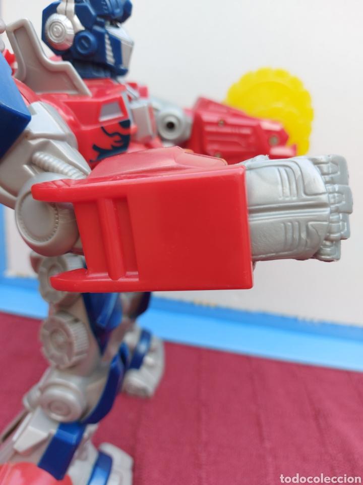 Figuras y Muñecos Transformers: TRANSFORMERS OPTIMUS PRIME ELECTRÓNICO- AUTO ROBOTS-JUGUETE-FIGURA DE ACCIÓN - Foto 24 - 213526440