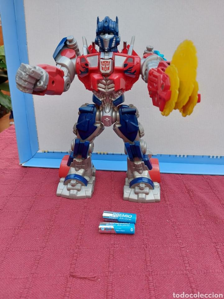 Figuras y Muñecos Transformers: TRANSFORMERS OPTIMUS PRIME ELECTRÓNICO- AUTO ROBOTS-JUGUETE-FIGURA DE ACCIÓN - Foto 28 - 213526440