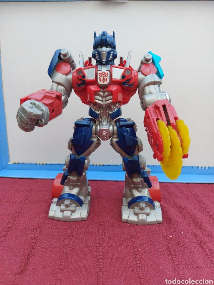 TRANSFORMERS OPTIMUS PRIME ELECTRÓNICO- AUTO ROBOTS-JUGUETE-FIGURA DE ACCIÓN (Juguetes - Figuras de Acción - Transformers)