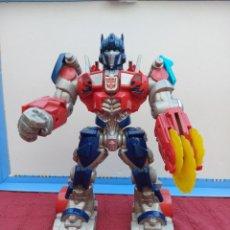 Figuras y Muñecos Transformers: TRANSFORMERS OPTIMUS PRIME ELECTRÓNICO- AUTO ROBOTS-JUGUETE-FIGURA DE ACCIÓN. Lote 213526440