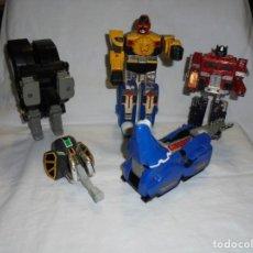 Figuras y Muñecos Transformers: TRANSFORMERS BANDAI ROBOTS LEER DESCRIPCION LO QUE SE VE EN LAS FOTOGRAFIAS. Lote 213892465
