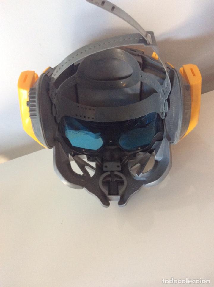Figuras y Muñecos Transformers: MÁSCARA TRANSFORMERS CON VOZ BUMBLEBEE FUNCIONANDO. - Foto 3 - 214897377