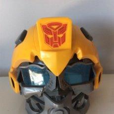 Figuras y Muñecos Transformers: MÁSCARA TRANSFORMERS CON VOZ BUMBLEBEE FUNCIONANDO.. Lote 214897377