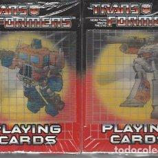 Figurines et Jouets Transformers: BARAJAS CARTAS TRANSFORMERS OFICIALES - INCLUYE LOS DOS SETS - A ESTRENAR !!. Lote 216419813